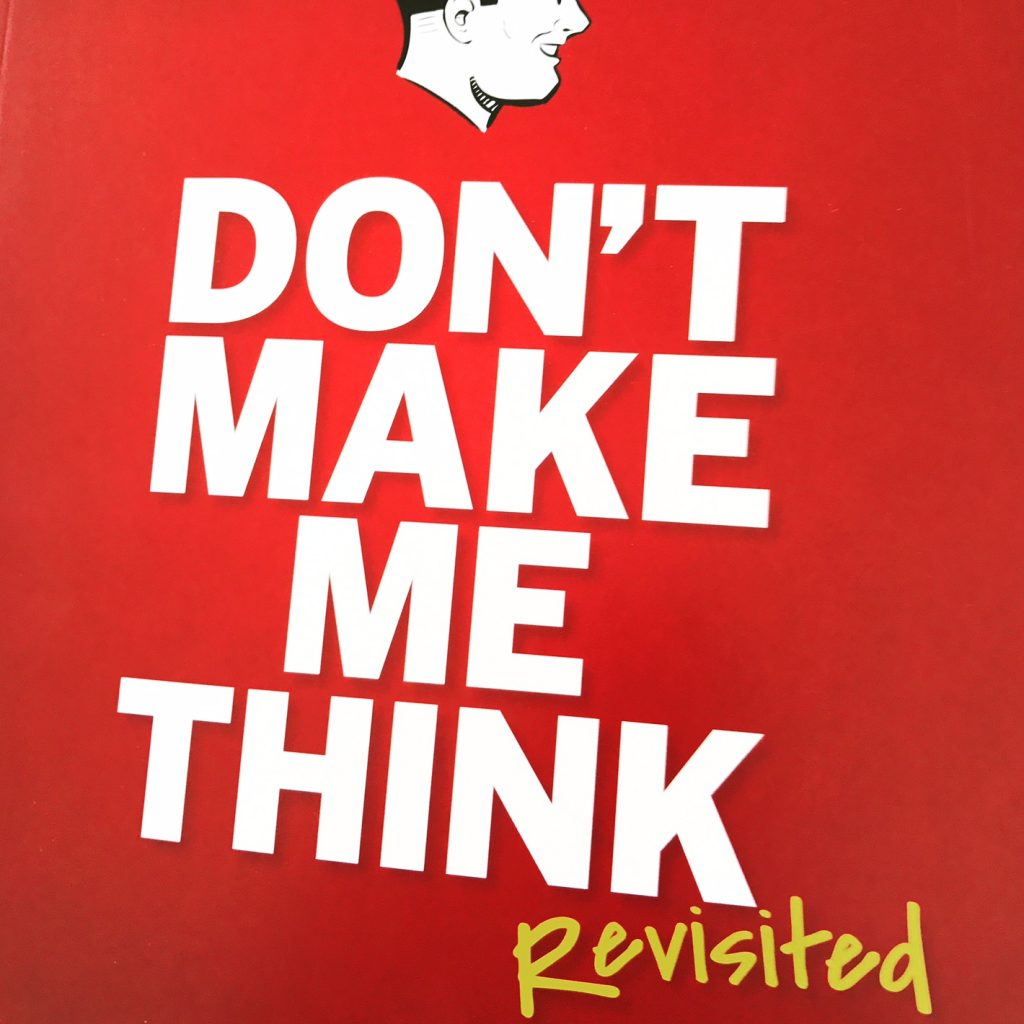 Don't make me think – Steve Krug