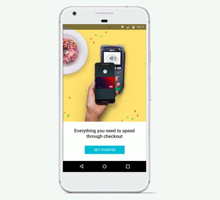 UX-writing Android Pay Get started