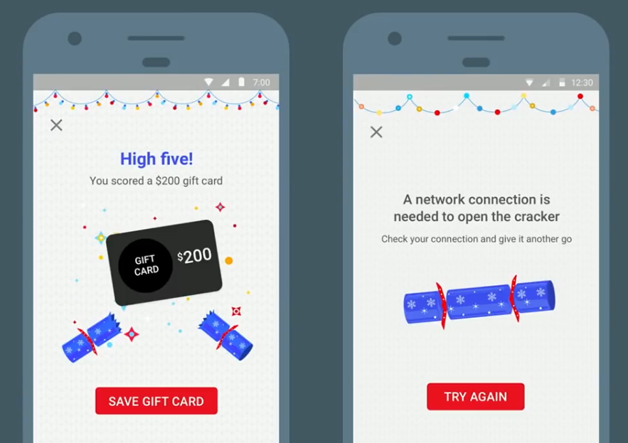 UX-writing Android Pay messages