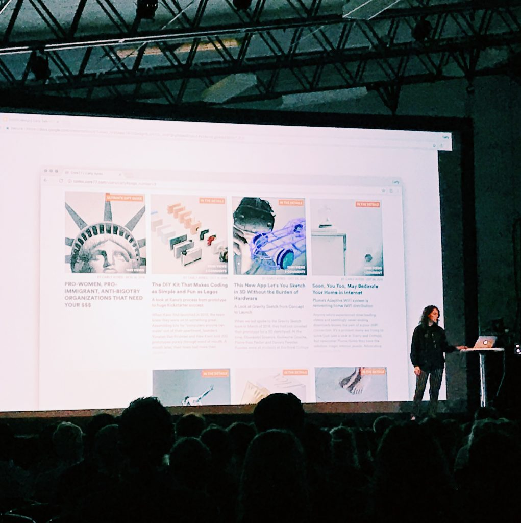 Carly Ayres on design as a conversation