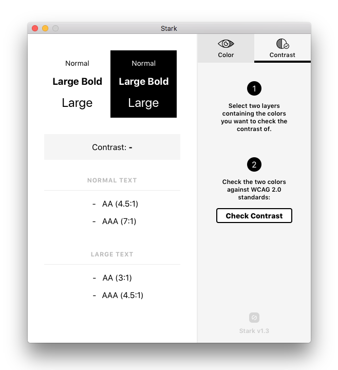 Stark – Sketch plugin for accessibility