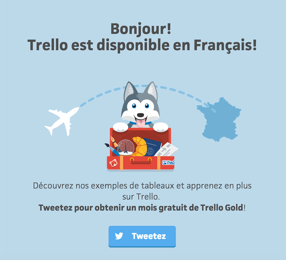 Trello in French