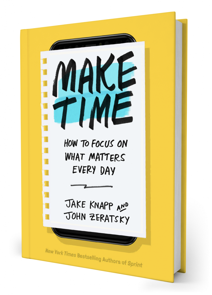 Make Time – bok om produktivitet på jobbet