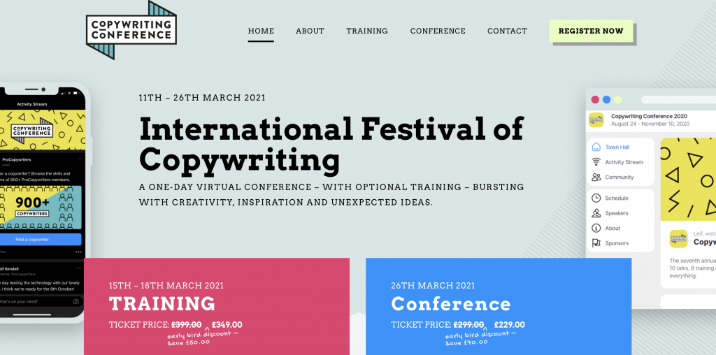 Copywriting conference 2021